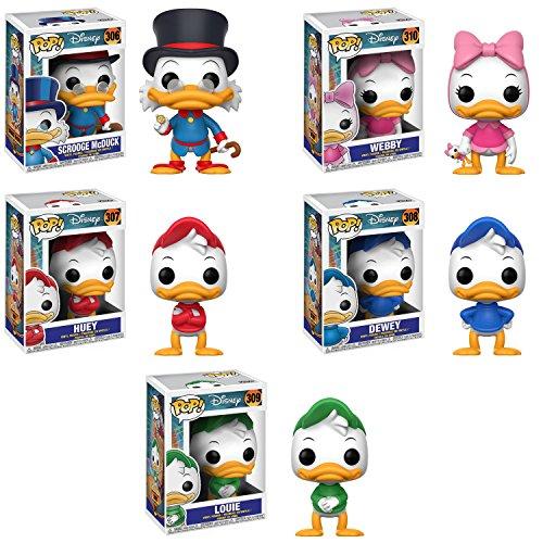 Funko Duck Tales Scrooge McDuck, Huey, Dewey, Louie, Webbiga