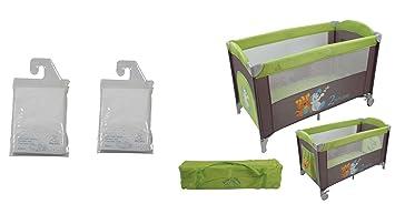 681bd8d9e07cf3 KING BEAR Lit parapluie fantaisie coloris gris vert avec ouverture zippée  et vide-poche