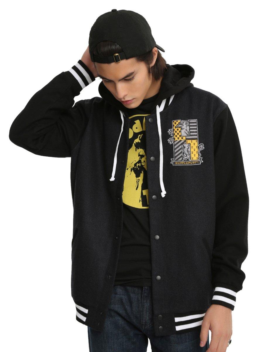 Harry Potter Hufflepuff Varsity Jacket
