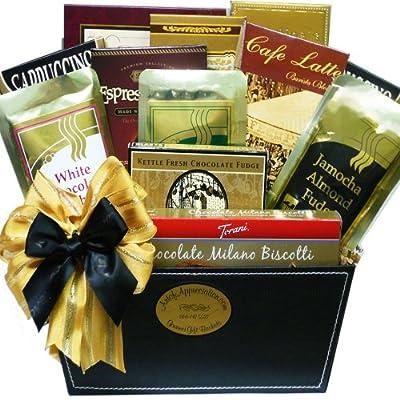 Coffee Caddy Gourmet Food Gift Basket