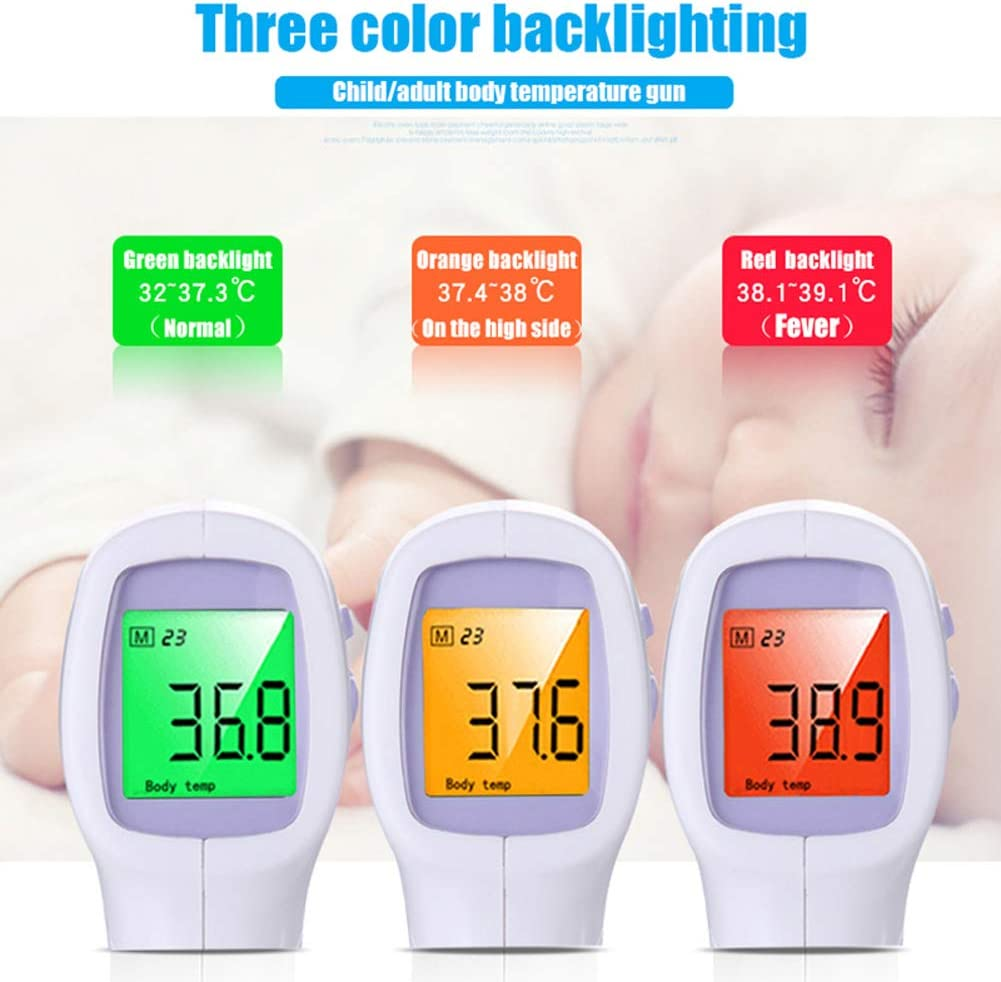 CQ Baby Thermometer Digital Infrared lcd Non Contact Body Water Electronic for Milk Water Room Medical Adult