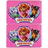 Paw Patrol Placemats - Pink [Set of 2]
