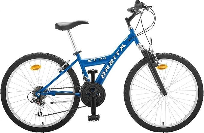 Bicicleta MTB Junior Acero Orbita Y24 18v: Amazon.es: Deportes y ...