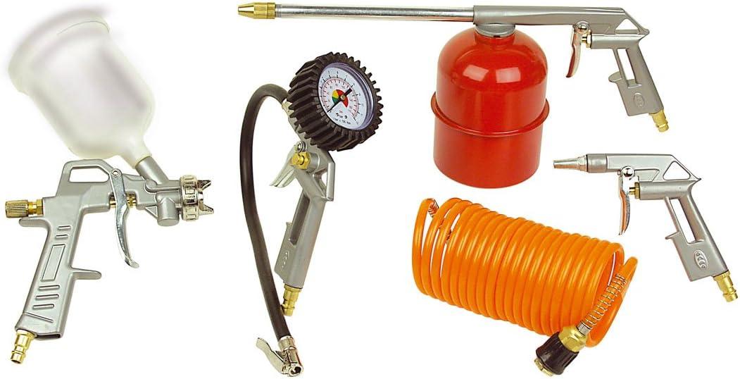 Mannesmann - M 1527 - Accesorios neumáticos, 5 piezas.