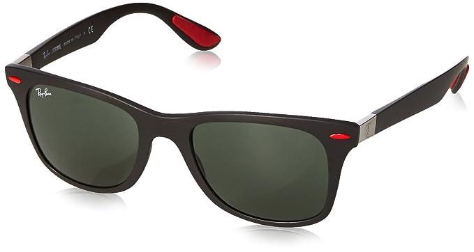 Ray-Ban 0RB4195M Gafas de sol, Matte Black, 52 para Hombre ...
