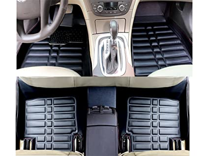 Amazon Com Fly5d All Weather Carpet Vehicle Floor Mats Waterproof