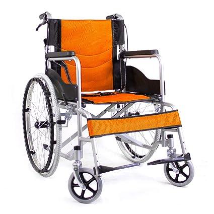 Silla de ruedas Aluminio Plegables Ligeras Autopropulsadas ...