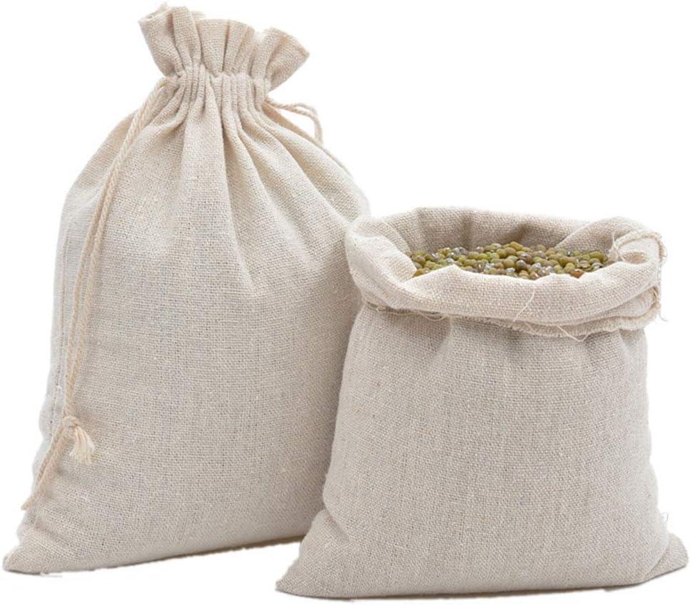 1000 4x6 Muslin Drawstring Bags