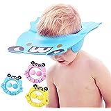 Baby Shower Cap Bathing Hat, Adjustable Shower Cap Kids, Infants Soft Protection Funny Safety Visor Cap for Toddler…
