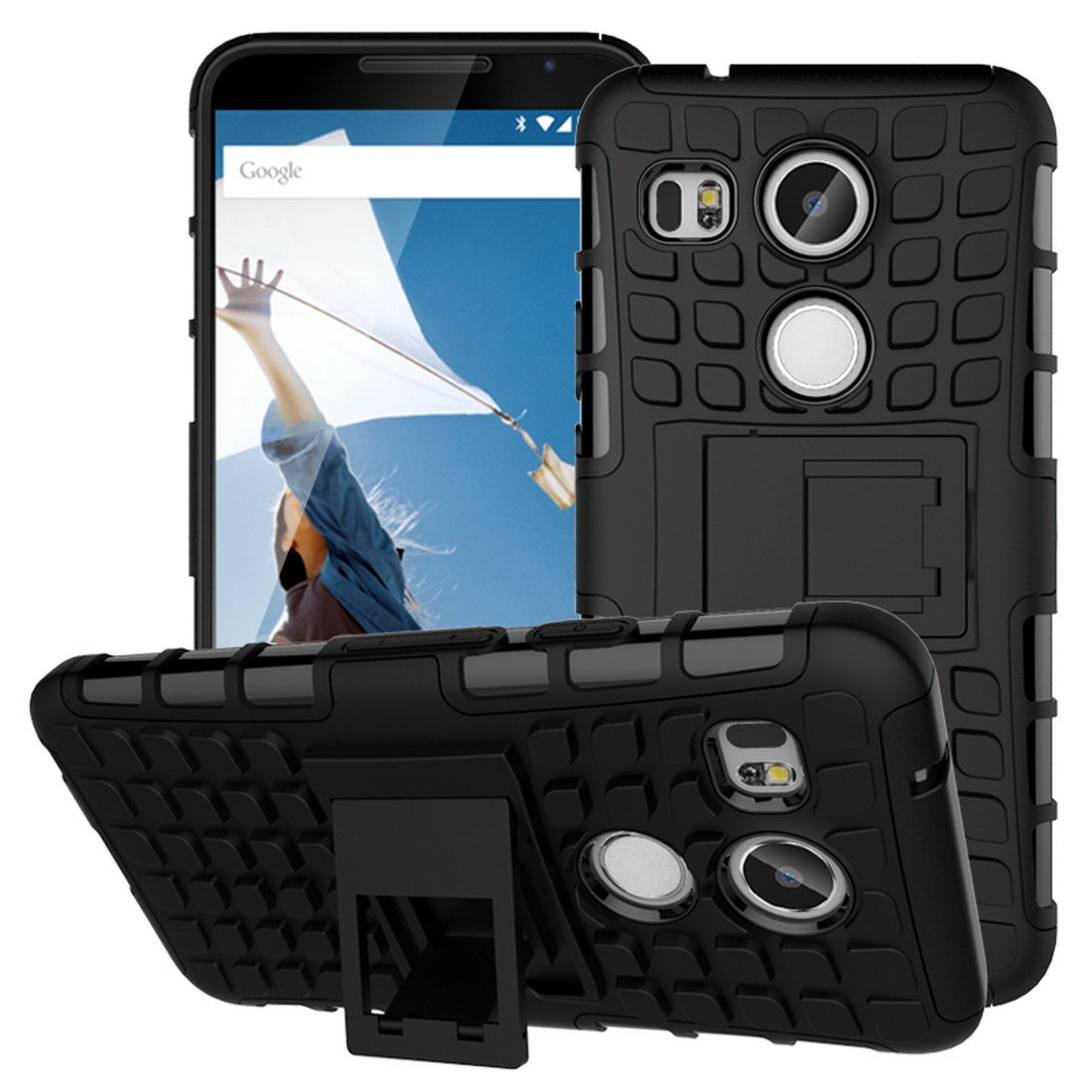premium selection ce0ca a7a71 Amazon.com: LG Nexus 5X Google Case,Protective Tough Armorbox Dual ...