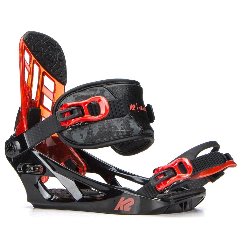 2018 K2 Vandal Black Medium JR Snowboard Bindings B1704018