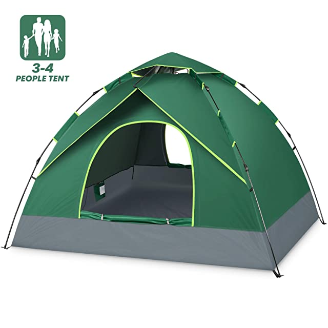 BATTOP 4 Person Tent for Family Camping