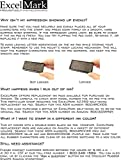 ExcelMark Self-Inking Do It Yourself Stamp Kit