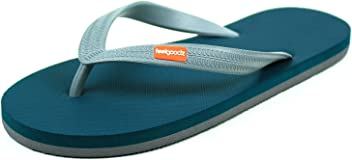 3edefd28a3d Feelgoodz Men s Classicz Natural Rubber Flip Flops - Comfortable and  Durable Natural Rubber Sole