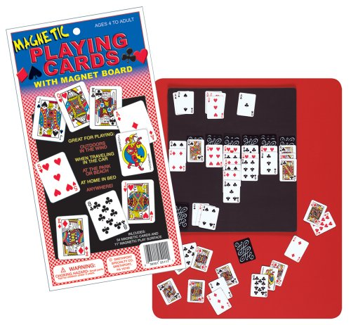 - Lauri Magnetic Playing Cards with Magnet Board