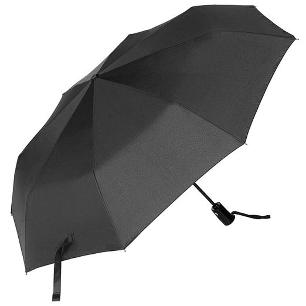 CMYK Black Umbrella Windproof Automatic Folding Travel Umbrella with Auto Open and Close YS-HS