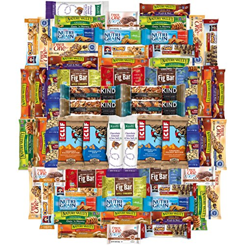 Snack Chest Healthy Bars and Snack Package, 65 Count (Whole Foods Halloween Cakes)