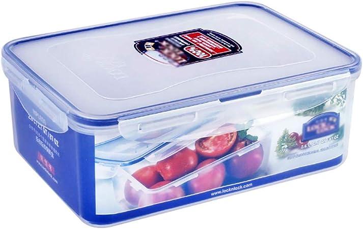 Botes herméticos Contenedores de Almacenamiento de Alimentos Caja de conservación de Alimentos Caja de plástico sellada Grande Caja de Almacenamiento de refrigerador, 248 * 180 * 93 mm (2.6L): Amazon.es: Hogar