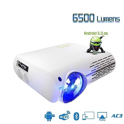 ZYLFN Bolsillo Inteligente Mini portátil Proyector DLP proyector ...