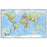 Weltkarte (deutsch) Großformat