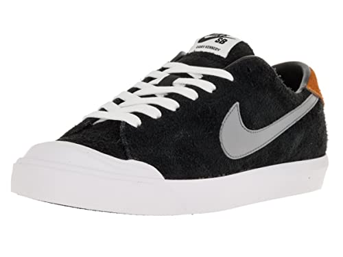 best loved 877ea 944f0 Nike Men s Zoom All Court Ck Black Cool Grey Vvd Orng White Skate