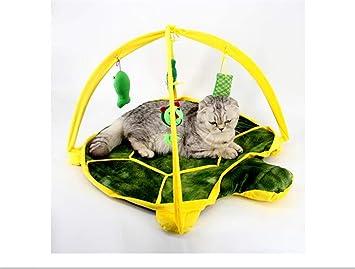 Pet Toy Home Sala de Juegos para Gatos Carpa para Gatos Sala de Juegos Smart Cat Toy Turtle: Amazon.es: Hogar