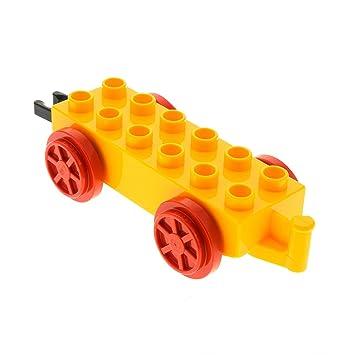 Lego Duplo Eisenbahn Schiebe Lok mit Anhänger LEGO Bausteine & Bauzubehör Baukästen & Konstruktion