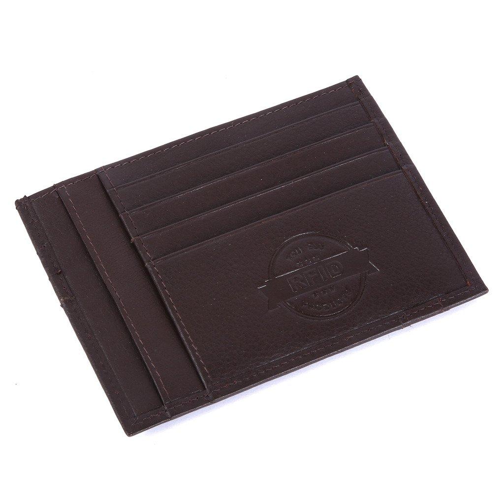 TRU BLU Mens Rfid Blocked Card Case
