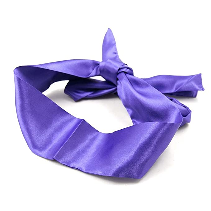 Vivilover Bondage Ties Satin Eye Mask Sleeping Blindfold for Women  (Purple): Amazon.ca: Clothing & Accessories