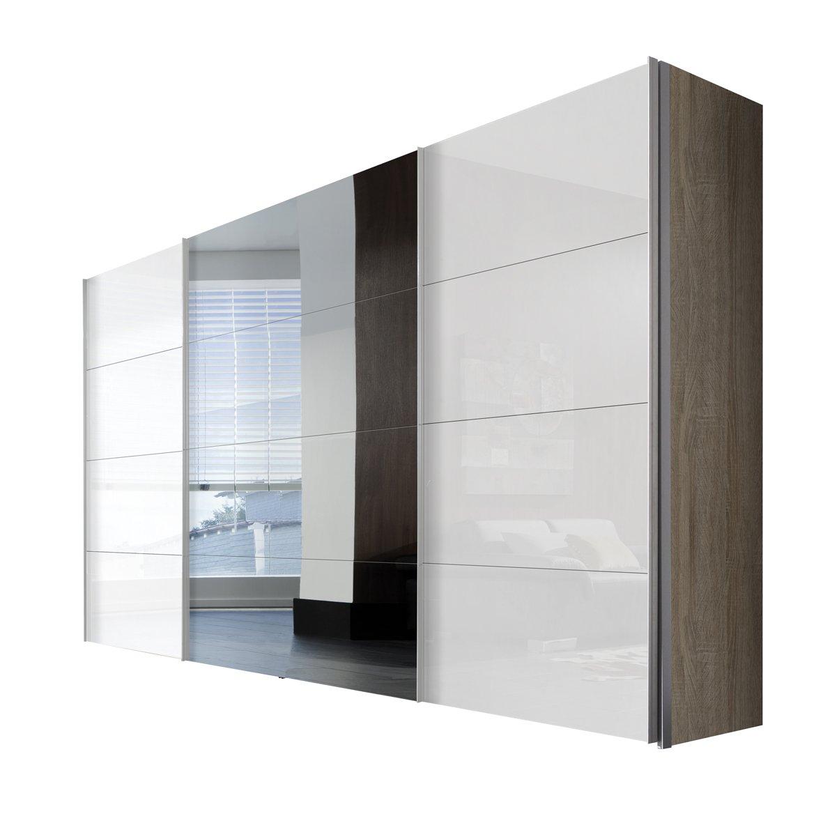 wei mit spiegel gnstig garderoben set tlg mit spiegel modena wei pinie with wei mit spiegel. Black Bedroom Furniture Sets. Home Design Ideas