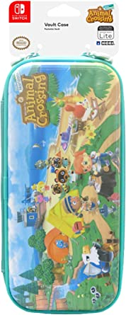Hori Vault Case Animal Crossing New Horizons For Nintendo