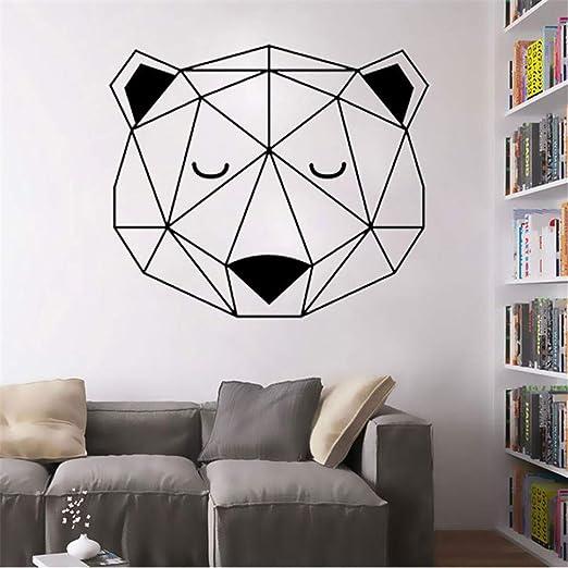 Ajcwhml Artistas decoración del hogar Apliques geométricos, vinilos, vinilos y murales 42X35CM.: Amazon.es: Hogar