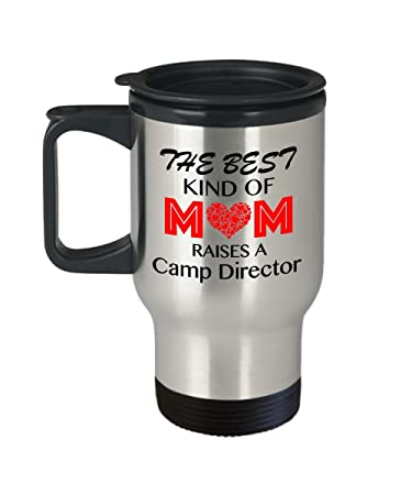 Amazon Funny Camp Director Travel Coffee Mug The Best Kind Of