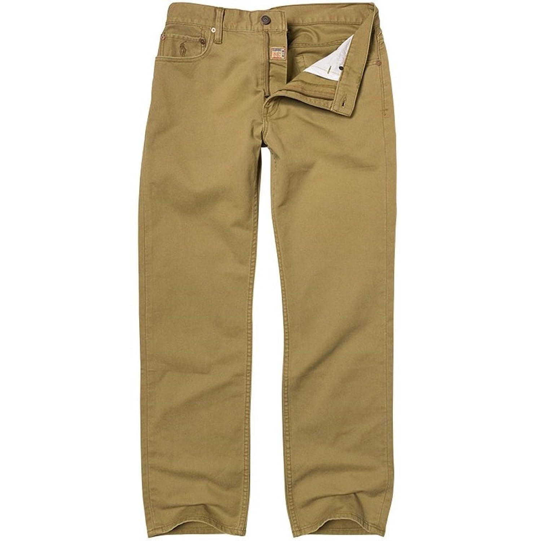 NWT Ralph Lauren Classic 867 Brown Sand Denim Jeans Pony on Pocket