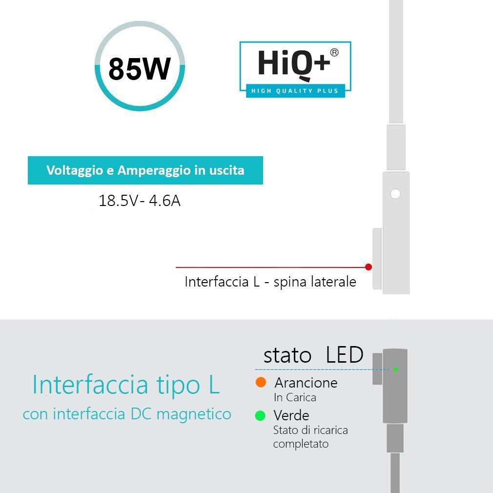 HiQ pour Voiture Mag1 et 2 45W MagSafe 2