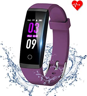 GOOPOW Fitness Tracker HR, Activity Tracker Watch with Heart Rate Monitor, Waterproof Smart Fitness