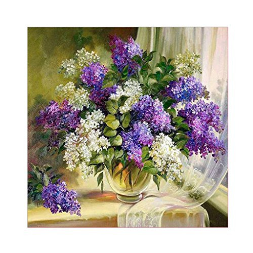 Lvyuanda Colorful Flowers 5D Diamond Embroidery Painting DIY Cross Stitch ation