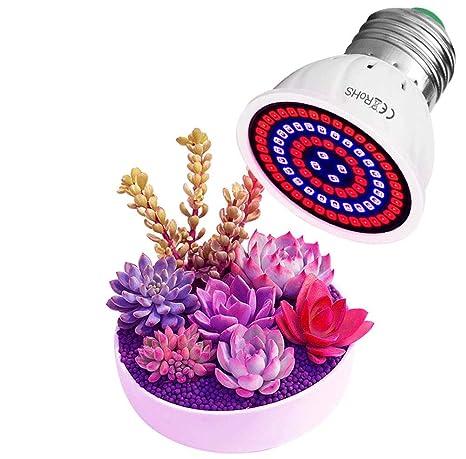 1 Lampara de cultivo led, luces de crecimiento de espectro ...