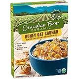 Cascadian Farm Cereal Organic Honey Crunch Oat, 13.5 Ounce