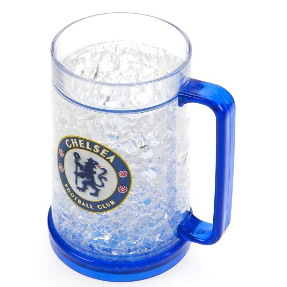 Chelsea FC - Vaso de cerveza oficial para congelador (Talla Única ...
