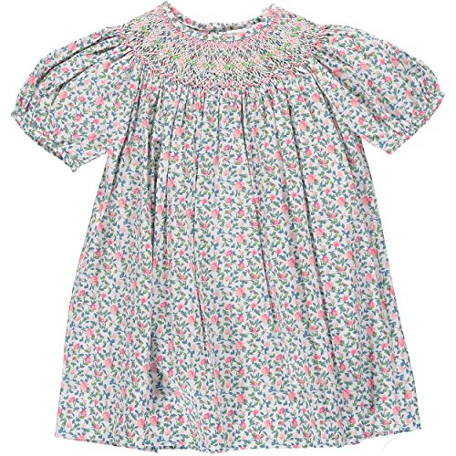 Carriage Boutique Divine Flowers Bishop Dress, 12M (Make Bishop Dress)