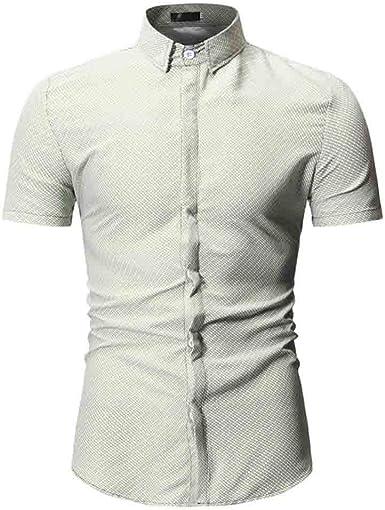 Geilisungren Polos Shirt de Manga Cortas para Hombre ...