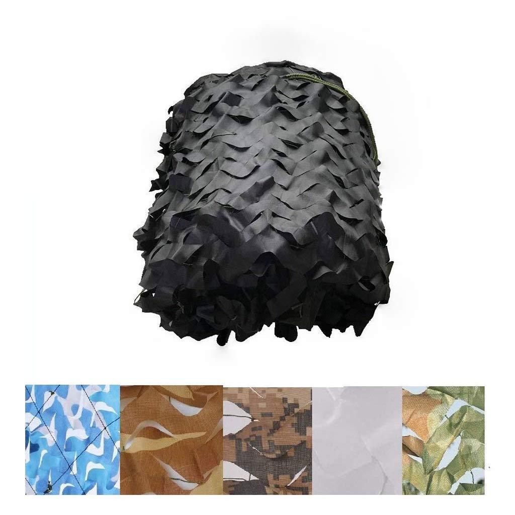 テラスの日除け 迷彩ネット日焼け止めネットシェードネットテント、釣り写真に適しています屋外ガーデンデコレーション隠しジャングルミリタリー、ブラック(マルチサイズオプション) 迷彩ネット日焼け止めネット (サイズ さいず : 5*10M(16.4*32.8ft)) 5*10M(16.4*32.8ft)  B07RJJVZC6