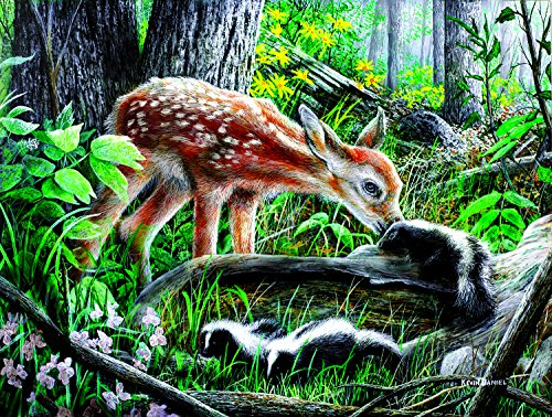 Friends of the Forest 500 Piece Jigsaw Puzzle by SunsOut