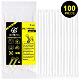 Multi-Purpose Nylon Zip Ties - (100 Piece) 8 Inch