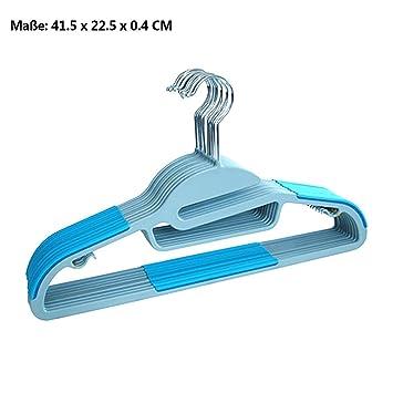 logei® 30st cintres en plastique de repassage multifonctions repassage  Cintre Hanger pantalons bracelet en plastique 9fae1fc48e8