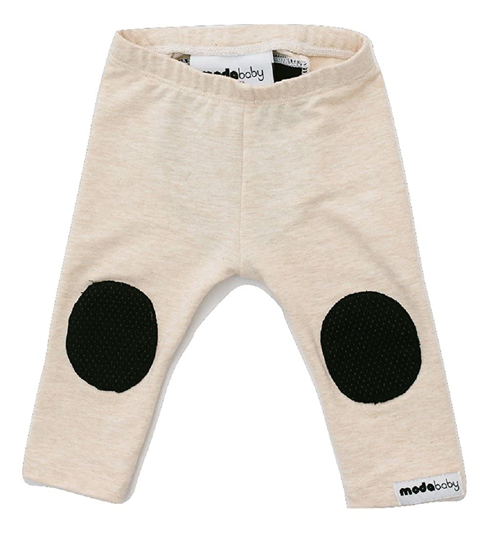 Hypoallergenic Crawling Leggings Bamboo Fabric Baby Leggings Almond//Black 18 M