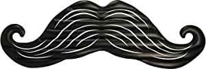 Coconut Float Gigantic Mustache 8-Foot Inflatable Pool Float, Pool Floats
