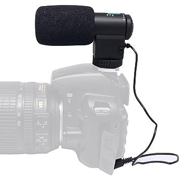 Mcoplus® 3,5 mm Jack Wireless Mini direccional alta sensibilidad ...