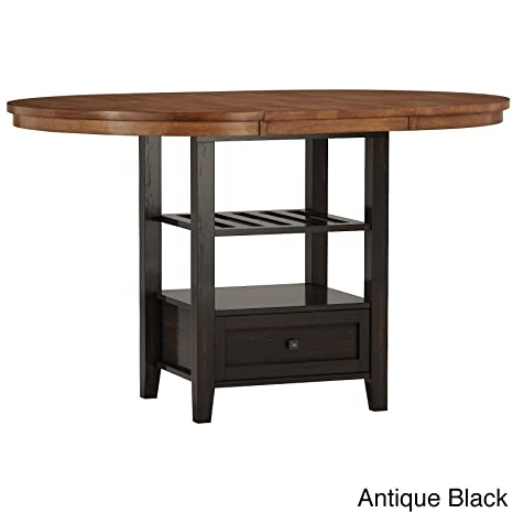 Amazon.com: Inspire Q Eleanor Oval Extensible de madera ...